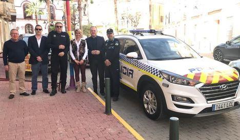 Nuevo vehículo para la Policía Local de Cuevas