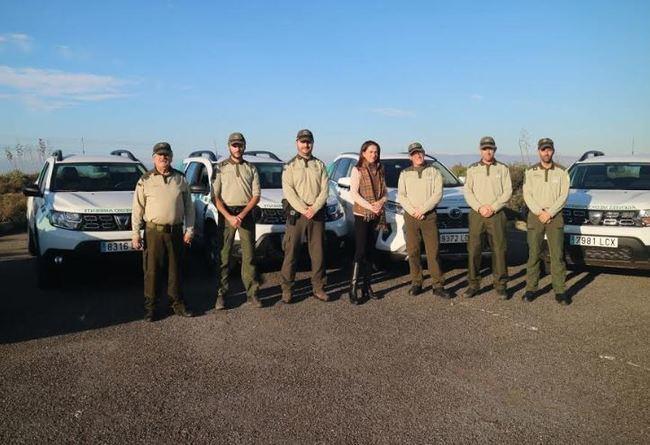 Entregados 7 nuevos vehículos a los agentes AMA de Almería
