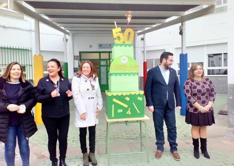 """El CEIP """"Virgen de las Angustias"""" de Tabernas celebra su 50 Aniversario"""