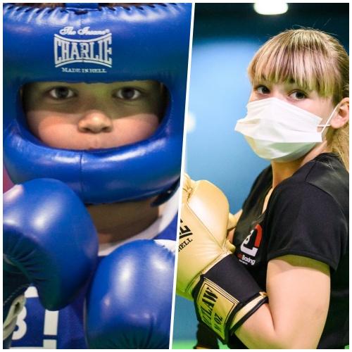 30 niños participan en los IV Juegos Deportivos de Formas de Boxeo