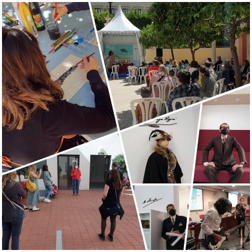 Sesión matinal de sábado en la Feria del Libro de Almería