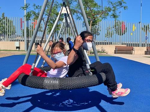 El Parque De La Infancia en Vícar Se Adapta A La Pandemia