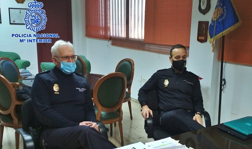 Dos nuevos Comisarios en la Policía Nacional en Almería