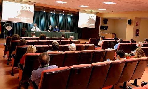 Reunión de la 'Comisión asesora del Consejo Pro Salud Mental Almería 'en Torrecárdenas