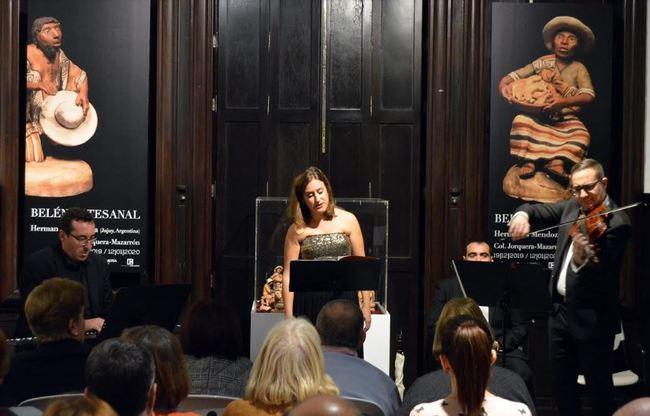Un viaje por Europa pone fin a la triple sesión de conciertos navideños 'Doña Pakyta'