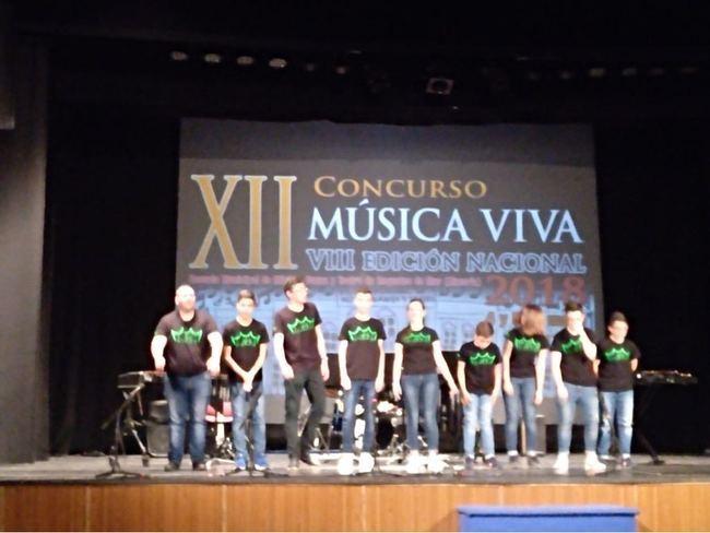 """Percusión de Cuevas consigue un segundo premio en el XII Festival """"Música Viva"""""""