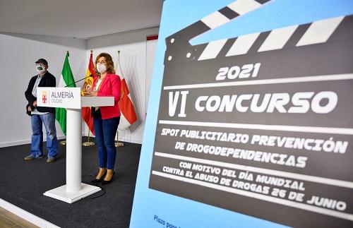 """Paola Laynez anima a participar a """"jóvenes de toda España"""" en el VI Concurso de Spot Publicitario contra el consumo de drogas"""