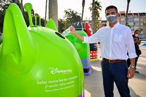 Ecovidrio y Disneyland París invitan al reciclaje en Almería