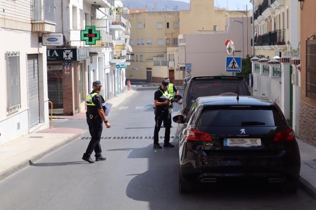 La Policía Local de Berja realizó cerca de 200 actuaciones en la Feria