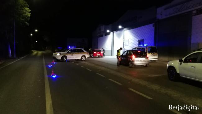 Policía Local de Berja y Guardia Civil refuerzan los controles por la Feria