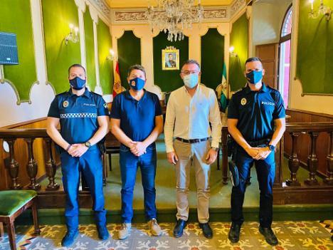 Los Ayuntamiento de Dalías y Berja se unen para reforzar la seguridad