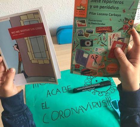 La Infancia De Vícar Se Vuelca Con La Iniciativa De Las Bibliotecasa POR #COVID9
