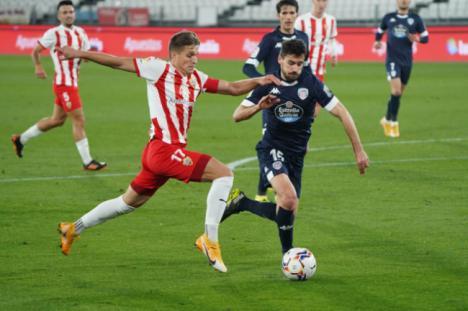 4-1: El Almería se reencuentra con el triunfo