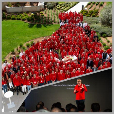 Cosentino reúne en Palma de Mallorca a sus mejores clientes de España y Portugal