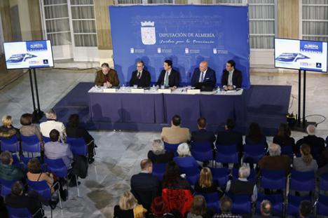 Diputación y Cosentino para presentar la guía 'Mármol' del IEA