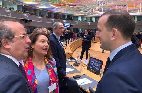 Crespo se convierte en voz de las autonomías en Bruselas sobre el cambio climático