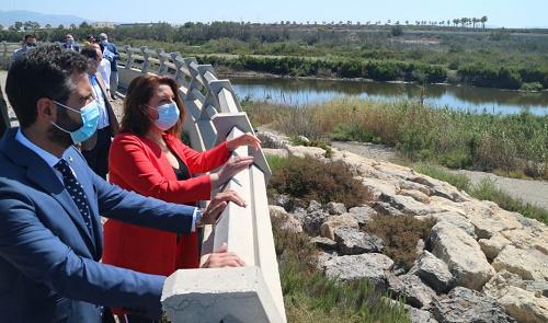 Finaliza la restauración ambiental de la desembocadura del río Andarax