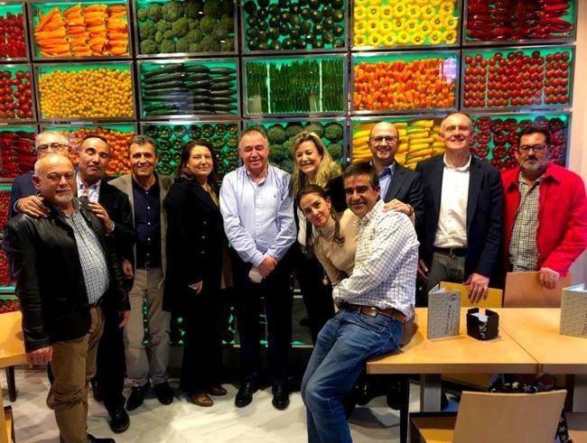 Crespo se reúne con Única Group para conocer sus proyectos