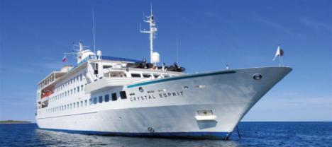 El crucero Crystal Esprit hace este lunes su primera escala en Almería