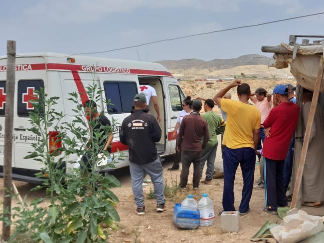 Cruz Roja Almería distribuye más de 430.000 kilos de alimentos para personas desfavorecidas
