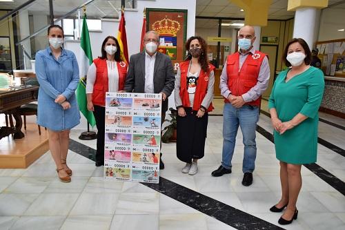 Ayuntamiento de Vícar Y Cruz Roja animan a participar en el Sorteo De Oro
