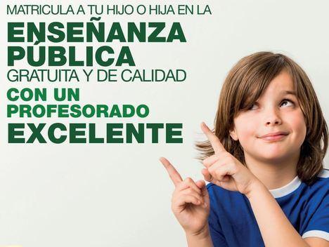 Campaña de CSIF para escolarizar en el sistema público