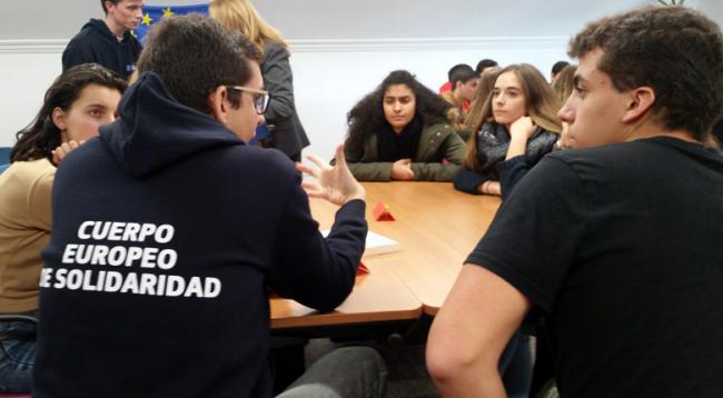 ¿Conoces el Cuerpo Europeo de Solidaridad?