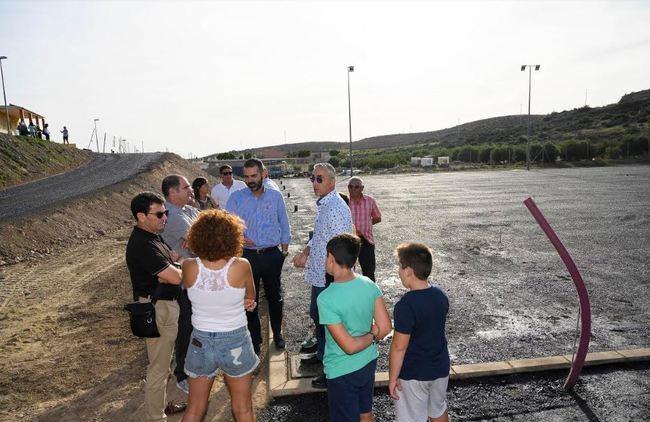 La pista polideportiva de Cuevas de Los Medinas se llamará José César Borbalán