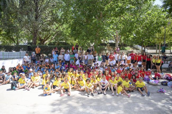 Gran fiesta de clausura de las Escuelas de Verano en la Comarca Río Nacimiento