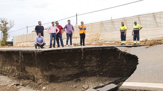 Diputación acaba las reparaciones en la red viaria tras el temporal de septiembre