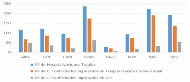 141 contagios covid-19 en Almería pero ni hay nuevos fallecidos ni más ingresados en UCI