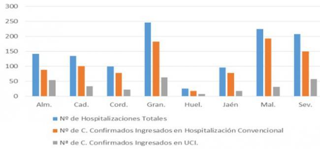 9 fallecidos por covid-19 y 42 contagios en Almería