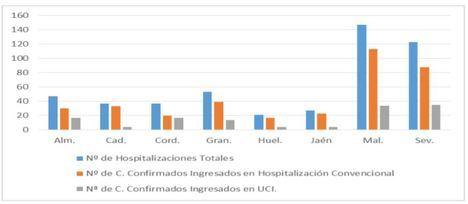 56 contagios de covid-19 en Almería que es la cuarta en hospitalizados