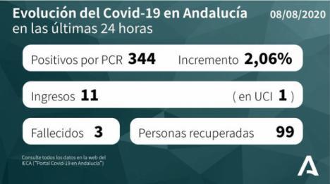 Almería vuelve a superar los 100 contagios de #COVID19 diarios y la segunda con menos curados acumulados
