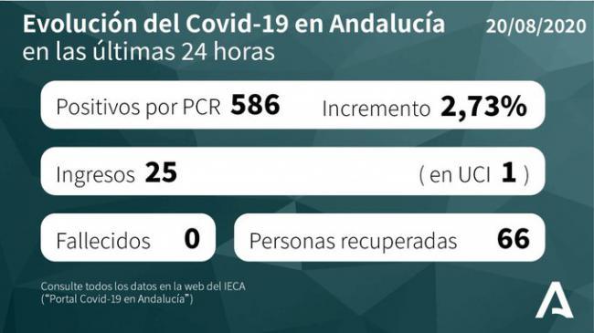 97 positivos en #COVID19 y mantiene 12 brotes activos