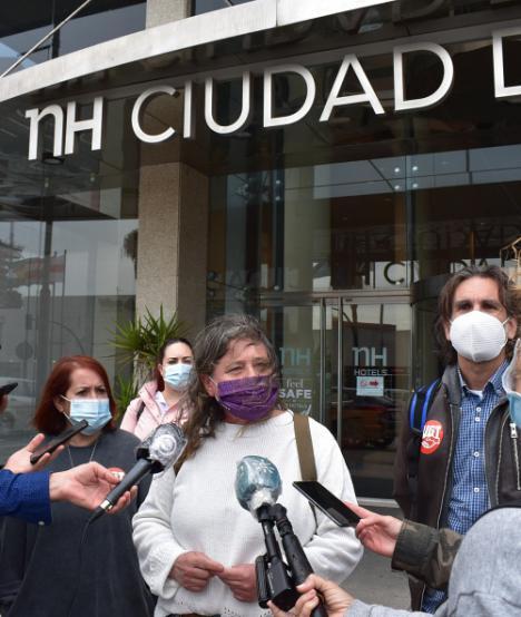 El hotel NH Ciudad de Almería al borde del cierre