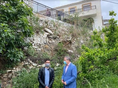 Administración Local colabora con 121.000 euros a reparar daños por lluvias en Líjar