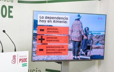 El PSOE dice que la Junta acumula sin resolver más de 700 peticiones de ayuda a domicilio