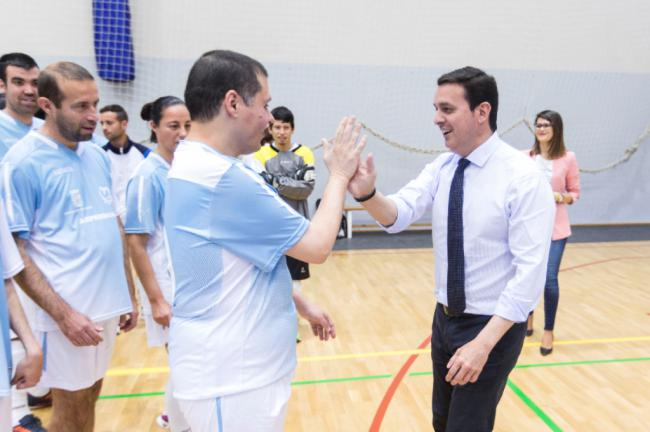 Más de 61.000 deportistas en siete programas de Diputación en 2019