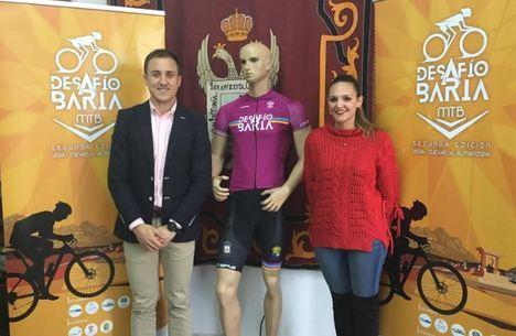 """260 participantes en la II prueba Mountain Bike """"Desafío Baria"""" entre Cuevas y Vera"""