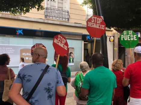 Adelante Andalucía dice que la prórroga de un deshaucio es gracias a la presión popular