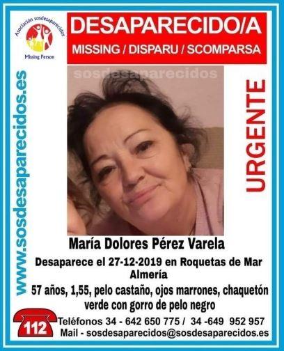 Se busca a una mujer desaparecida en Roquetas de Mar