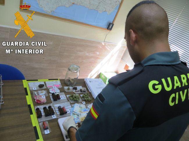 Traficantes de siete sustancias distintas detenidos en dirección al Dreambeach