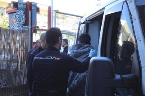 Detenido in fraganti la segunda vez que fue a robar a la Escuela de Música de Almería