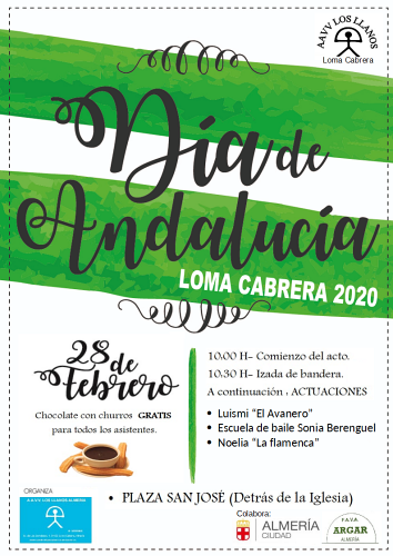 Loma Cabrera celeba el 28F Día de Andalucía