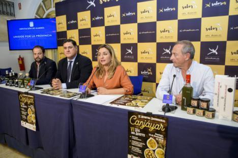 'Sabores Almería' respalda a la industria oleica de Canjáyar con su tradicional 'Día del Aceite'