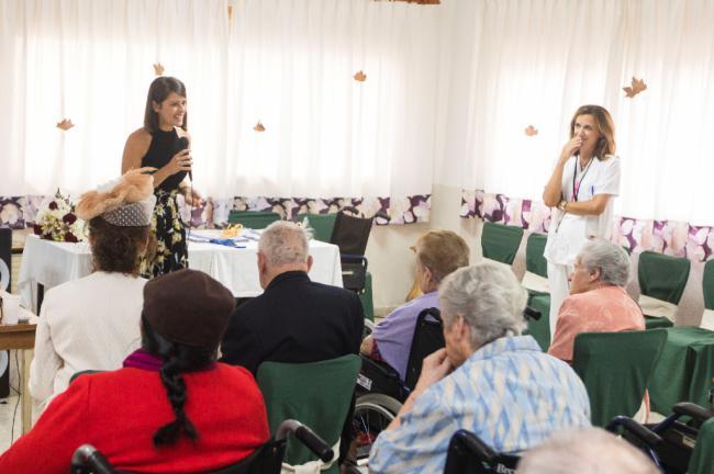 Diputación celebra el 'Día del Mayor' en la Residencia Asistida