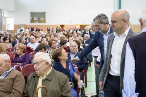 Diputación celebra el 'Día del Mayor' en María con más de 500 personas de la comarca de 'Los Vélez'