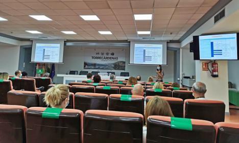 Torrecárdenas celebra el 'Día Mundial Sin Tabaco' con una charla formativa