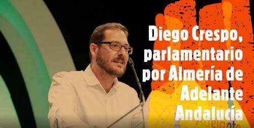 """Diego Crespo: """"No creemos que el futuro pase por la construcción y el turismo de masas"""""""
